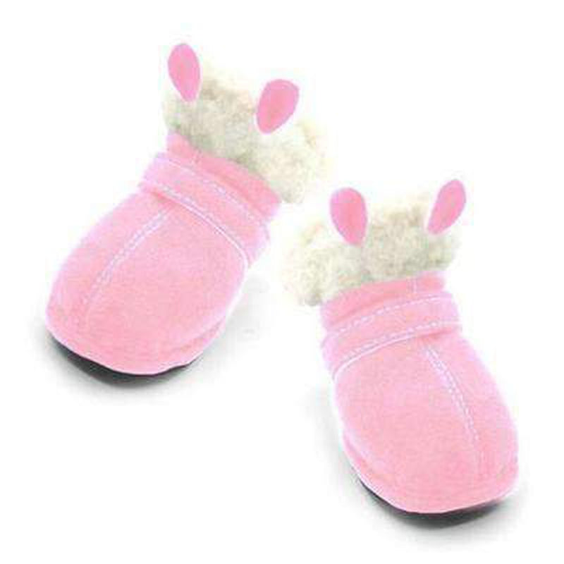 Bunny Ear Dog Ugg Boots, Pet Clothes, Furbabeez, [tag]