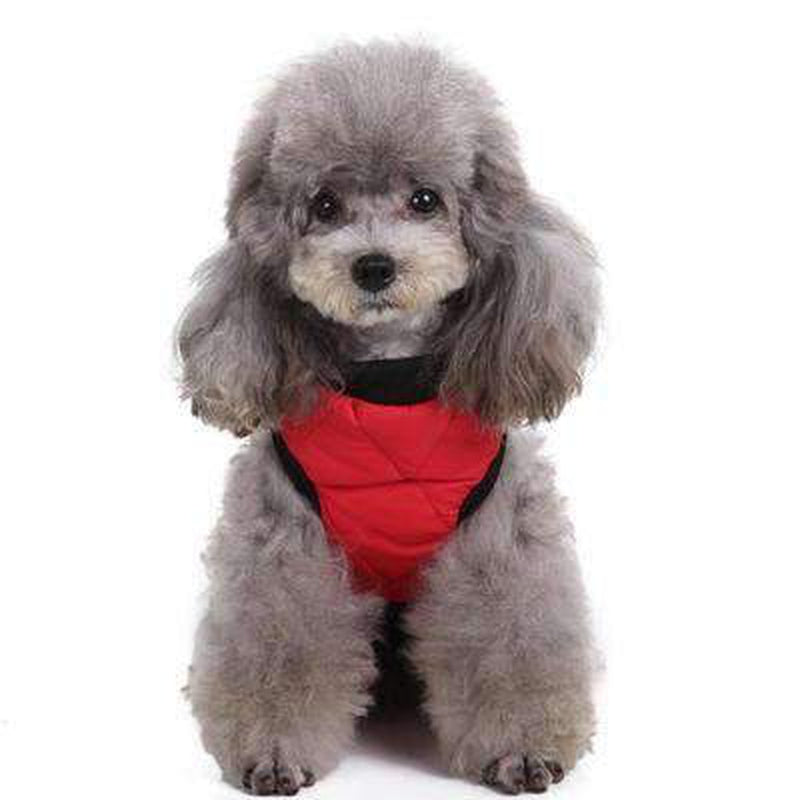 Two Tone Quilted Vest Pet Clothes Oberlo