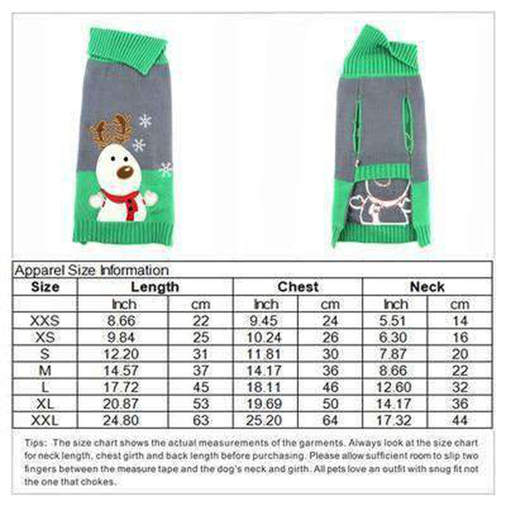 Dog in Snow Christmas Sweater, Pet Clothes, Furbabeez, [tag]