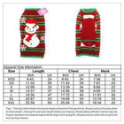 Striped Snowman Dog Christmas Sweater Pet Clothes Oberlo XXS