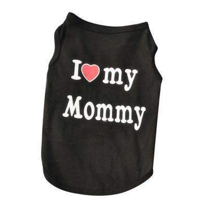 I Love Mommy Dog Tank, Pet Clothes, Furbabeez, [tag]