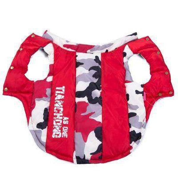 Camouflage Waterproof Puffer Vest, Pet Clothes, Furbabeez, [tag]