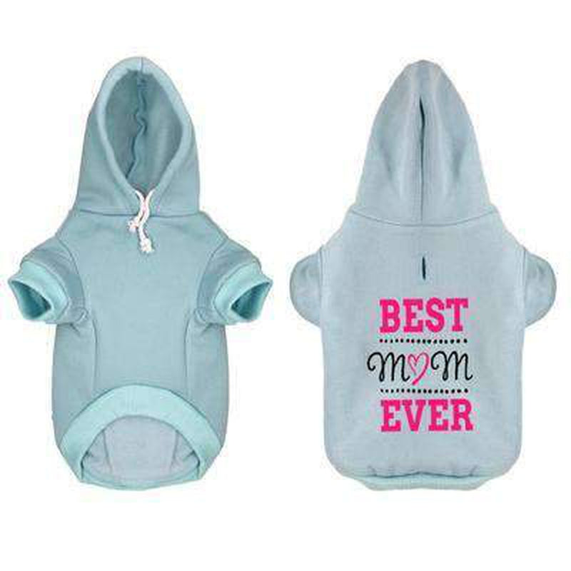 Best Mom Ever Dog Hoodie, Pet Clothes, Furbabeez, [tag]