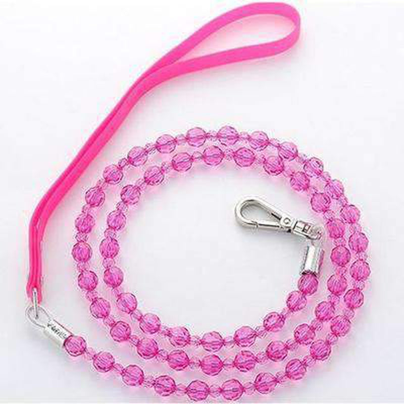 Beaded Dog Leash, Collars and Leads, Furbabeez, [tag]