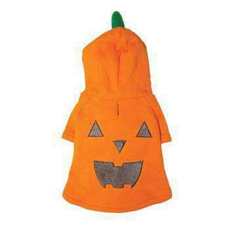 Pumpkin Dog Hoodie Sweatshirt Pet Clothes DOGO