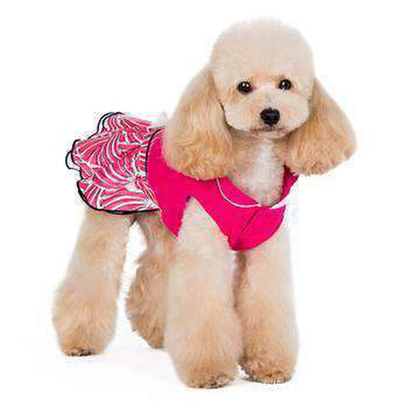 PuppyPAWer Lady Flower Dog Dress, Pet Clothes, Furbabeez, [tag]