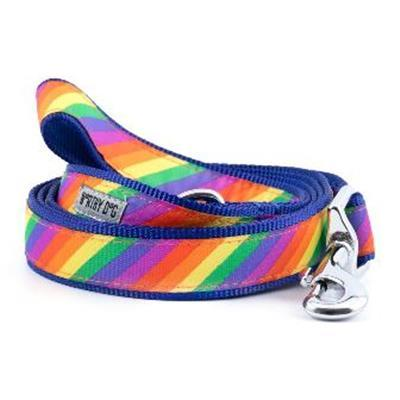 "Rainbow Collar & Lead Collection Collars and Leads Worthy Dog SM 5/8"" Lead"