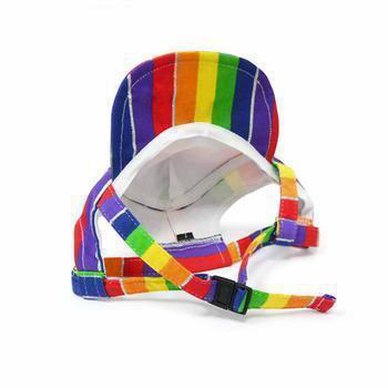 Rainbow Dog Hat, Pet Accessories, Furbabeez, [tag]
