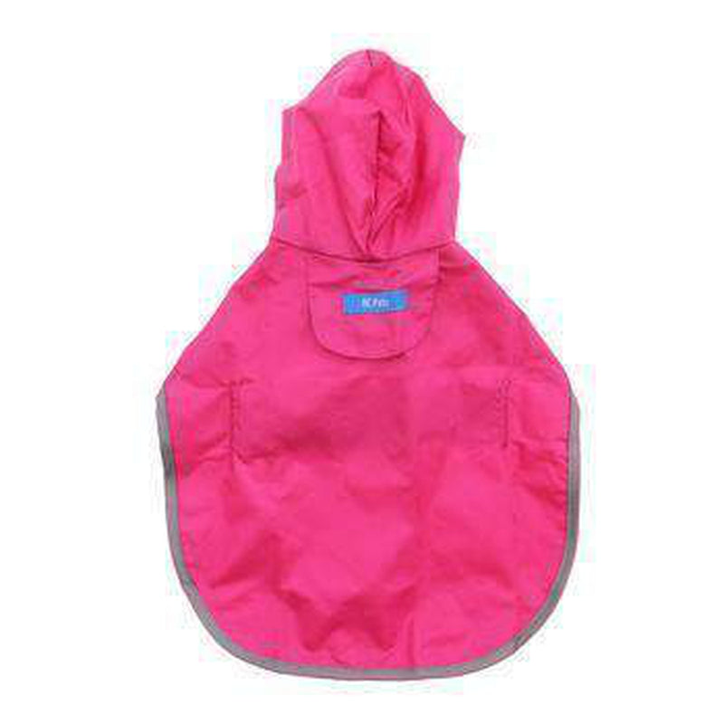 Raspberry Packable Dog Rain Poncho, Pet Clothes, Furbabeez, [tag]