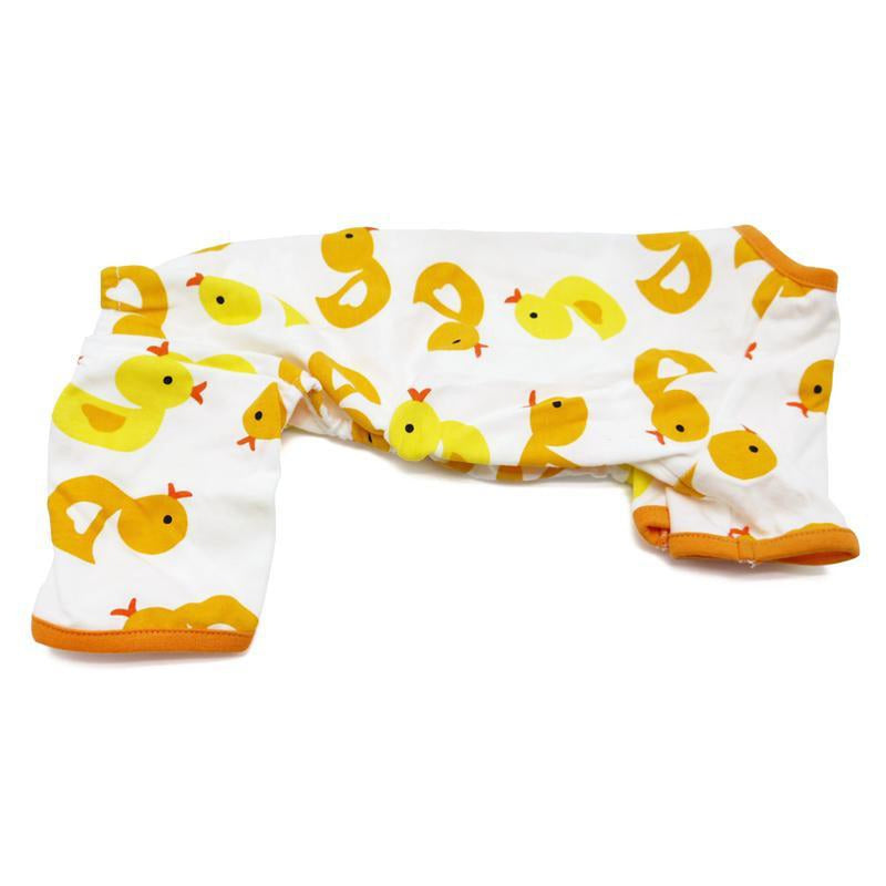 Rubber Ducky Dog Pajamas, Pet Clothes, Furbabeez, [tag]