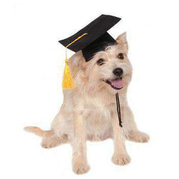 Rubies Graduation Dog Hat - Black Pet Accessories Rubie's Costumes