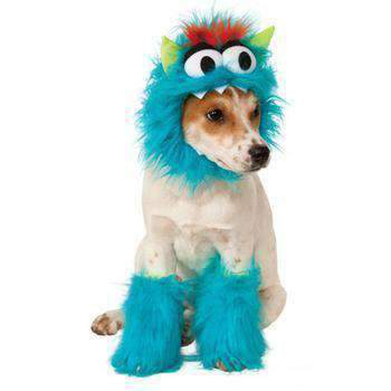 Rubie's Monster Halloween Dog Costume - Blue, Pet Clothes, Furbabeez, [tag]