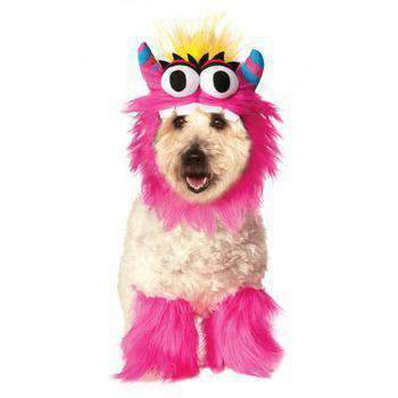 Rubie's Monster Halloween Dog Costume - Pink Pet Clothes Rubie's Costumes