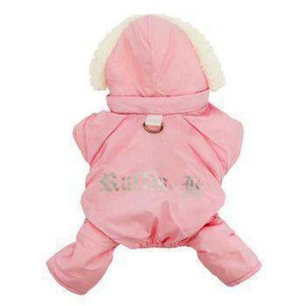 Ruffin It Snowsuit - Pink Pet Clothes Doggie Design