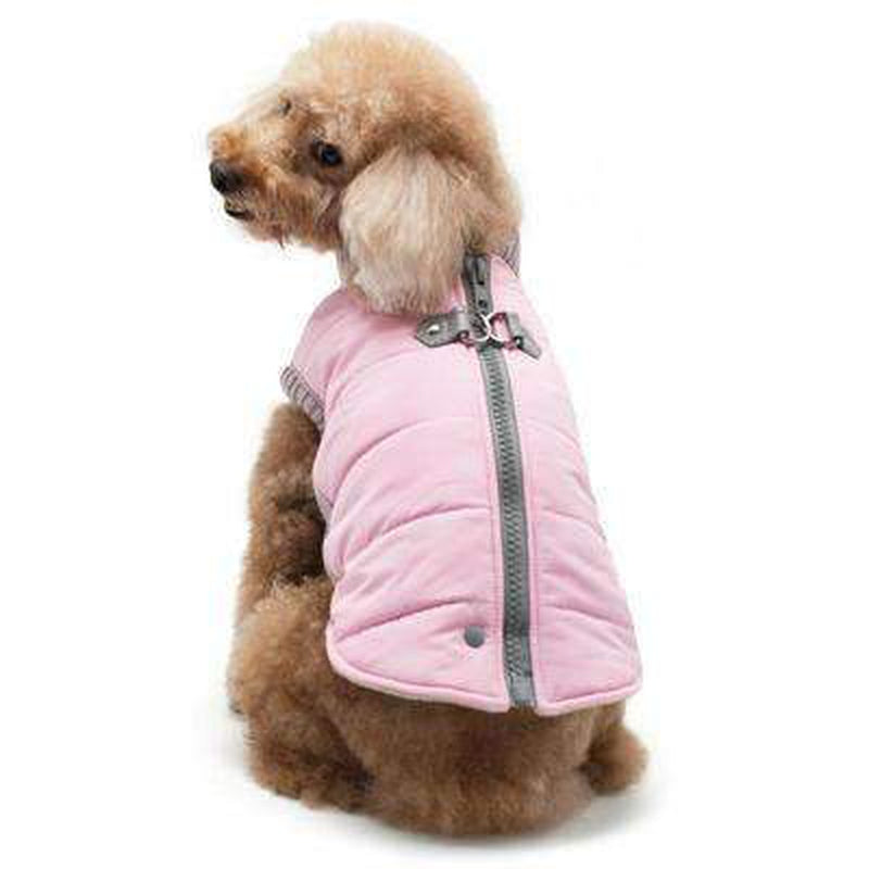 Runner Dog Coat - Pink, Pet Clothes, Furbabeez, [tag]