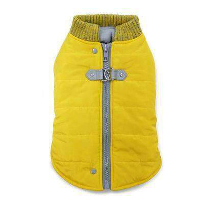 Runner Dog Coat - Yellow Pet Clothes DOGO