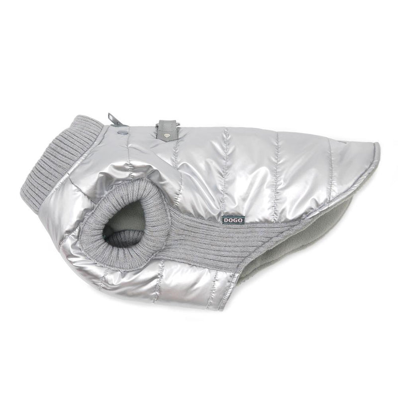 Runner Dog Coat - Silver, Pet Clothes, Furbabeez, [tag]