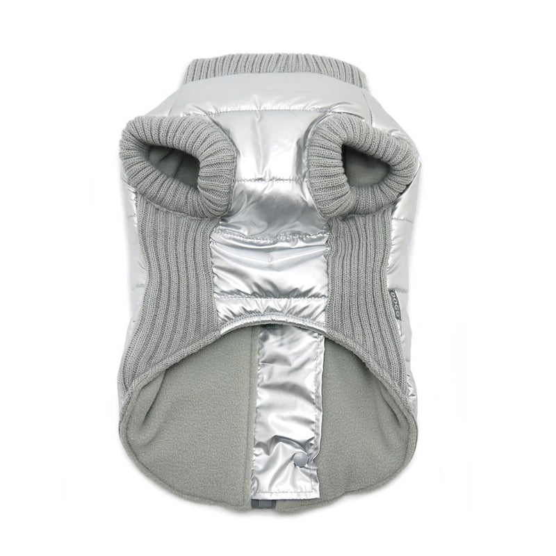 Runner Dog Coat - Silver Pet Clothes DOGO