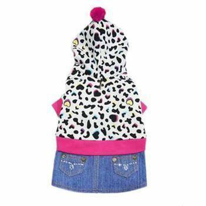 Sadie Denim Dog Dress, Pet Clothes, Furbabeez, [tag]