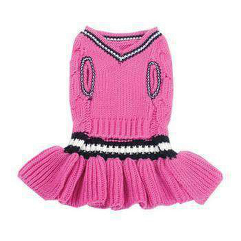 School Girl Dog Sweater Dress, Pet Clothes, Furbabeez, [tag]