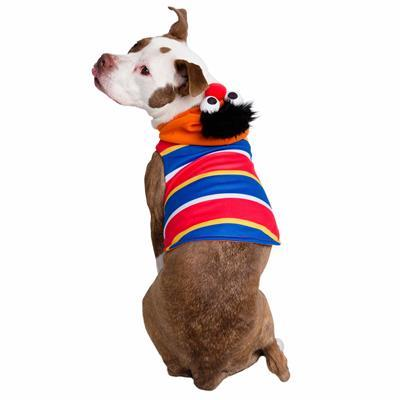 Sesame Street Ernie Dog Hoodie Costume Pet Clothes Pet Krewe