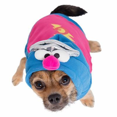 Sesame Street Super Grover Dog Pet Costume Pet Clothes Pet Krewe