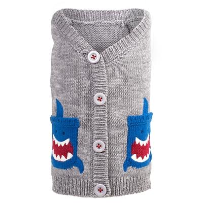 Shark Pocket Dog Cardigan Pet Clothes Worthy Dog