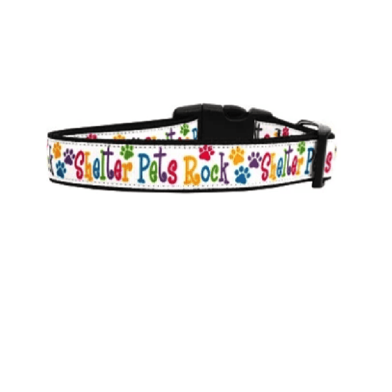Shelter Pets Rock Dog Collar & Leash, Collars and Leads, Furbabeez, [tag]