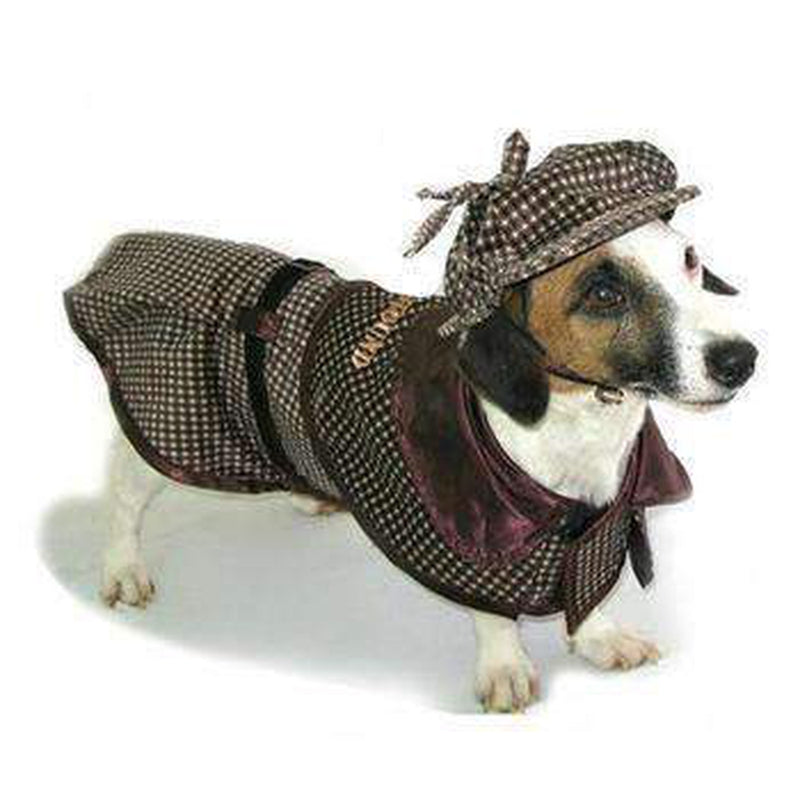 Sherlock Hound Dog Costume, Pet Clothes, Furbabeez, [tag]