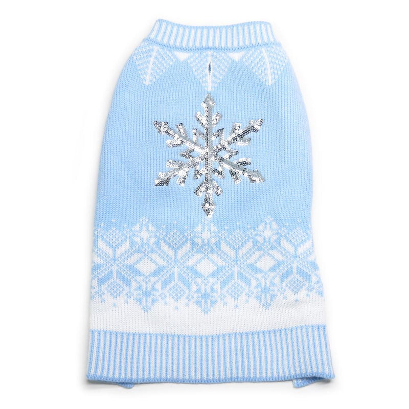 Shiny Snow Flake Dog Sweater, Pet Clothes, Furbabeez, [tag]