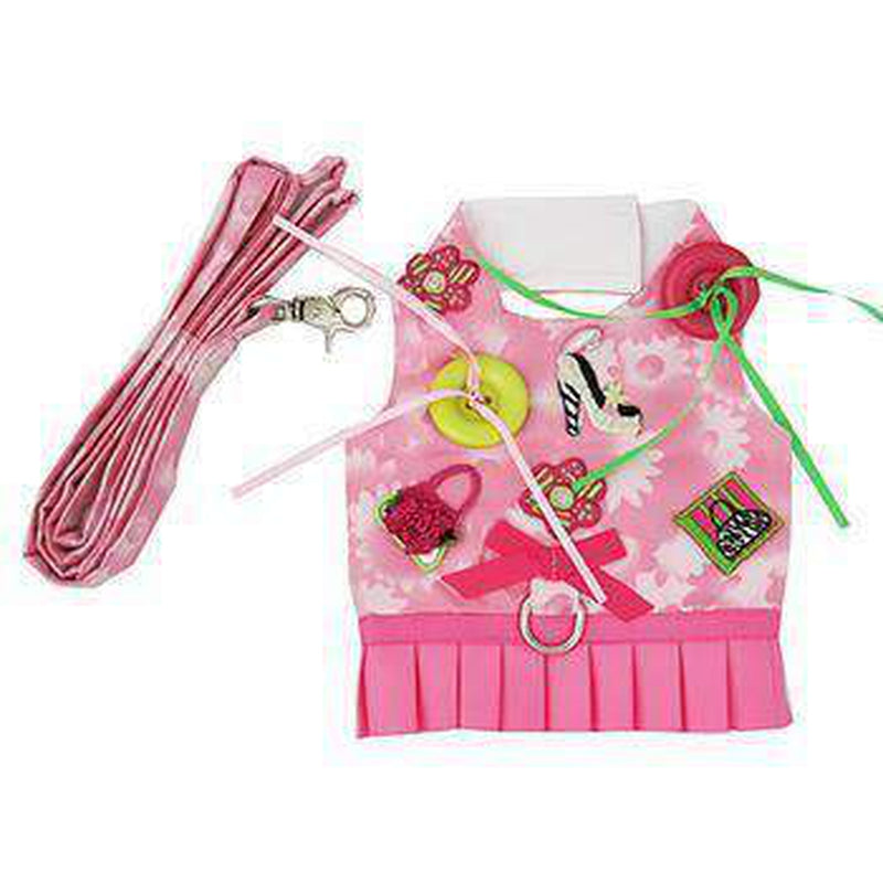 Shop 'til You Drop Dog Harness Vest with Leash by Cha-Cha Couture, Collars and Leads, Furbabeez, [tag]