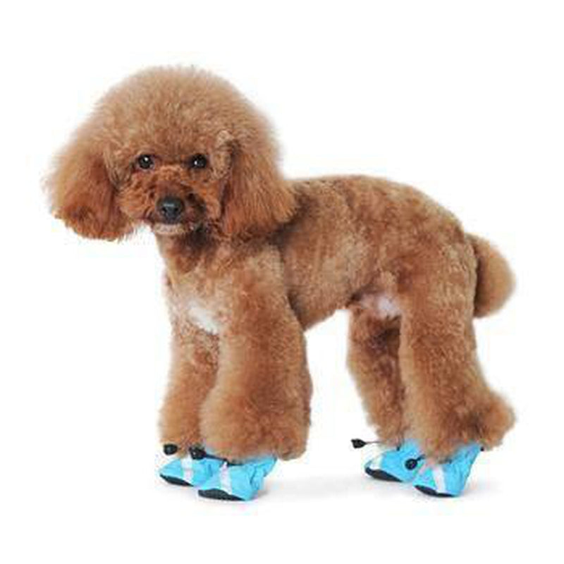 Slip-On Paws Dog Booties by Dogo - Blue Pet Clothes DOGO