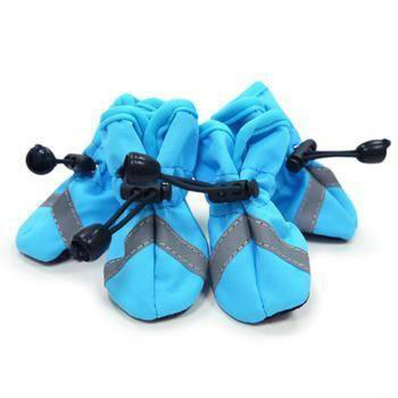 Slip-On Paws Dog Booties by Dogo - Blue Pet Clothes DOGO X-Small