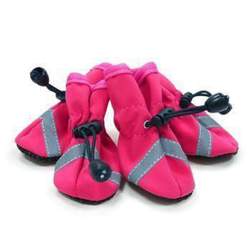 Slip-On Paws Dog Booties by Dogo - Pink, Pet Clothes, Furbabeez, [tag]