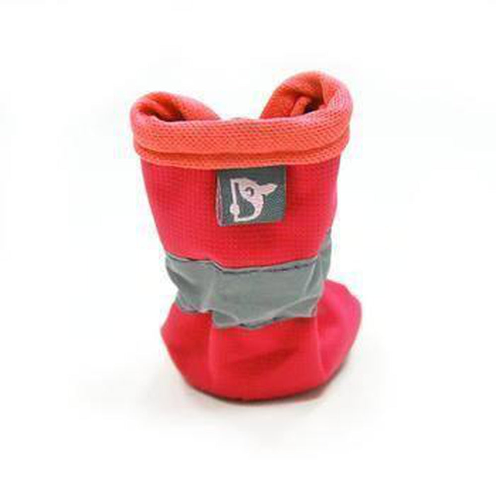 Slip-On Paws Dog Booties by Dogo - Red Pet Clothes DOGO