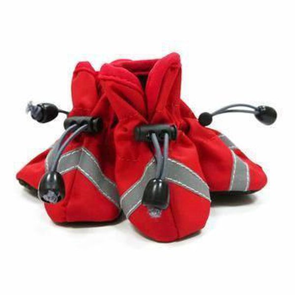 Slip-On Paws Dog Booties by Dogo - Red Pet Clothes DOGO X-Small