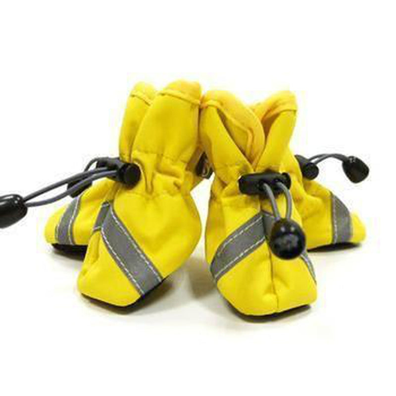 Slip-On Paws Dog Booties by Dogo - Yellow Pet Clothes DOGO X-Small