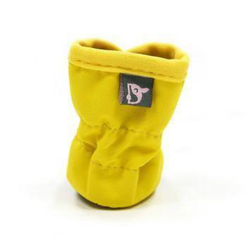 Slip-On Paws Dog Booties by Dogo - Yellow Pet Clothes DOGO