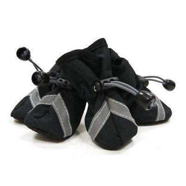 Slip-On Paws Dog Booties by Dogo - Black, Pet Clothes, Furbabeez, [tag]