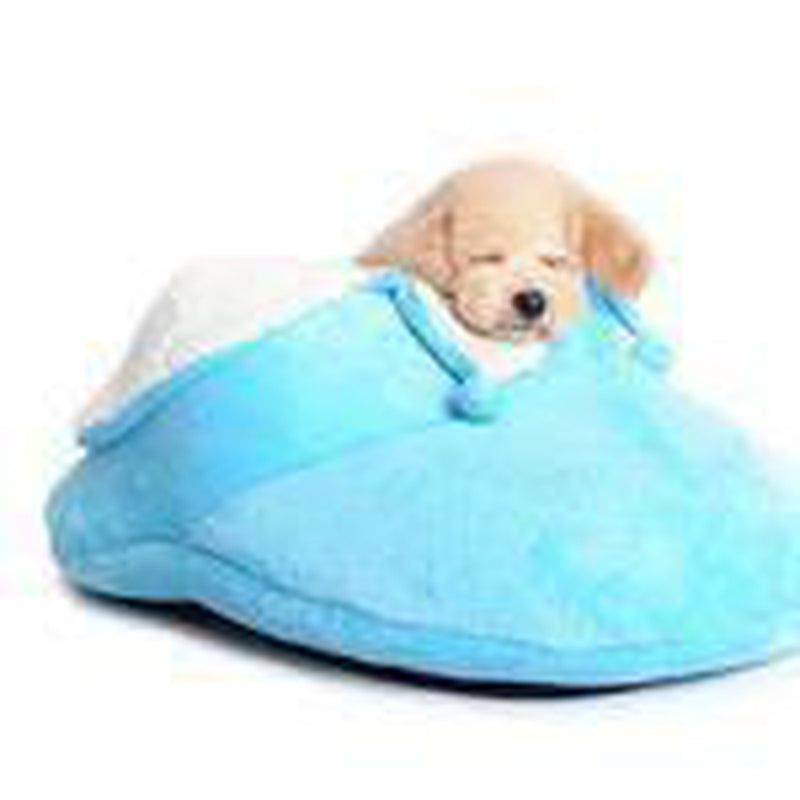 Slipper Dog Bed By Dogo - Blue Pet Bed DOGO One Size