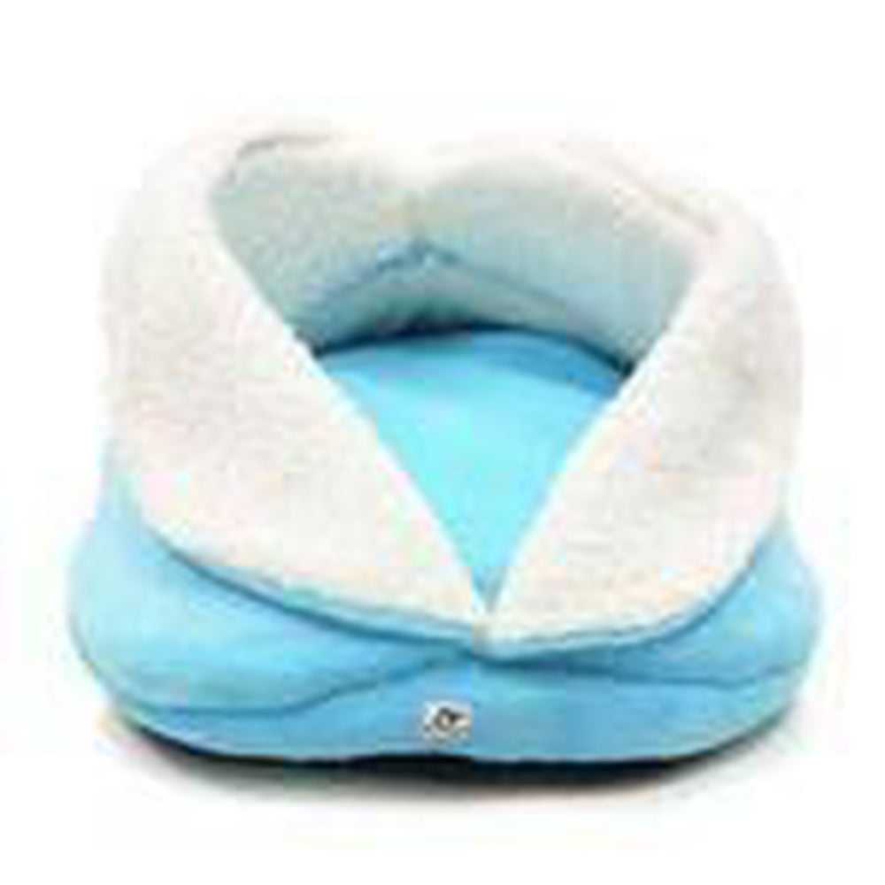 Slipper Dog Bed By Dogo - Blue, Pet Bed, Furbabeez, [tag]