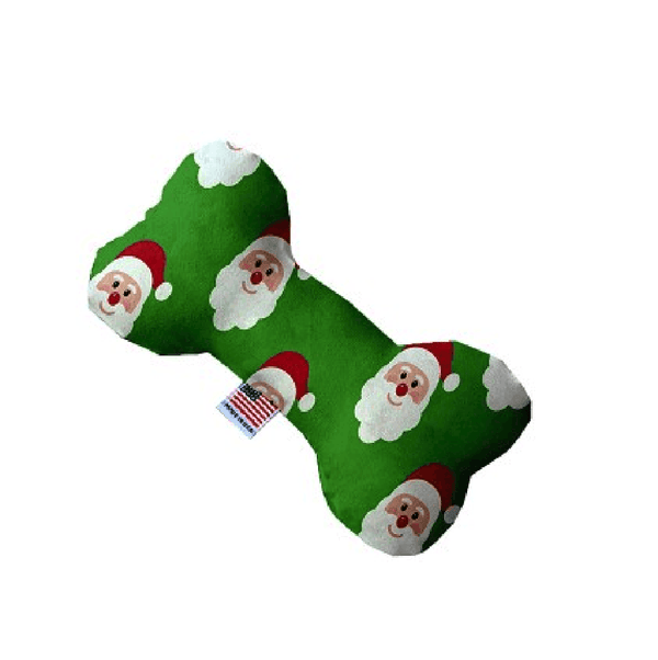 Smiling Santa Bone Dog Toy, Pet Toys, Furbabeez, [tag]