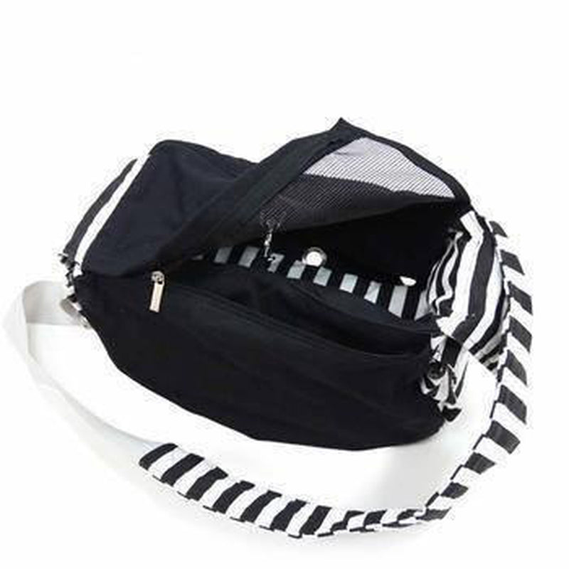 Soft Sling Bag Dog Carrier by Dogo - Black Pet Accessories DOGO