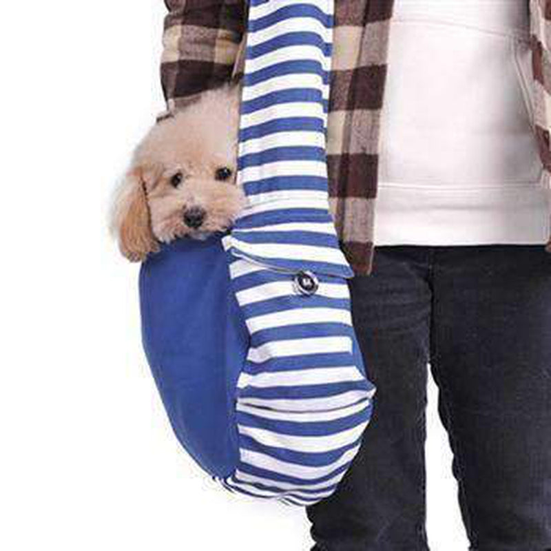 Soft Sling Bag Dog Carrier by Dogo - Blue, Pet Accessories, Furbabeez, [tag]