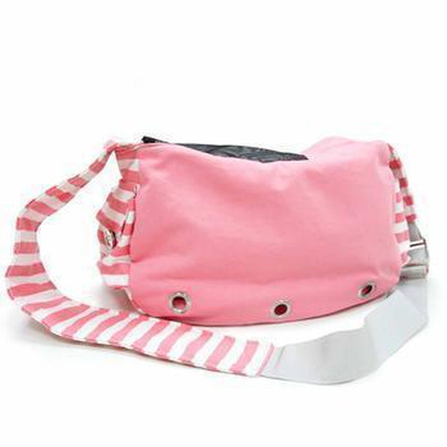 Soft Sling Bag Dog Carrier by Dogo - Pink Pet Clothes DOGO