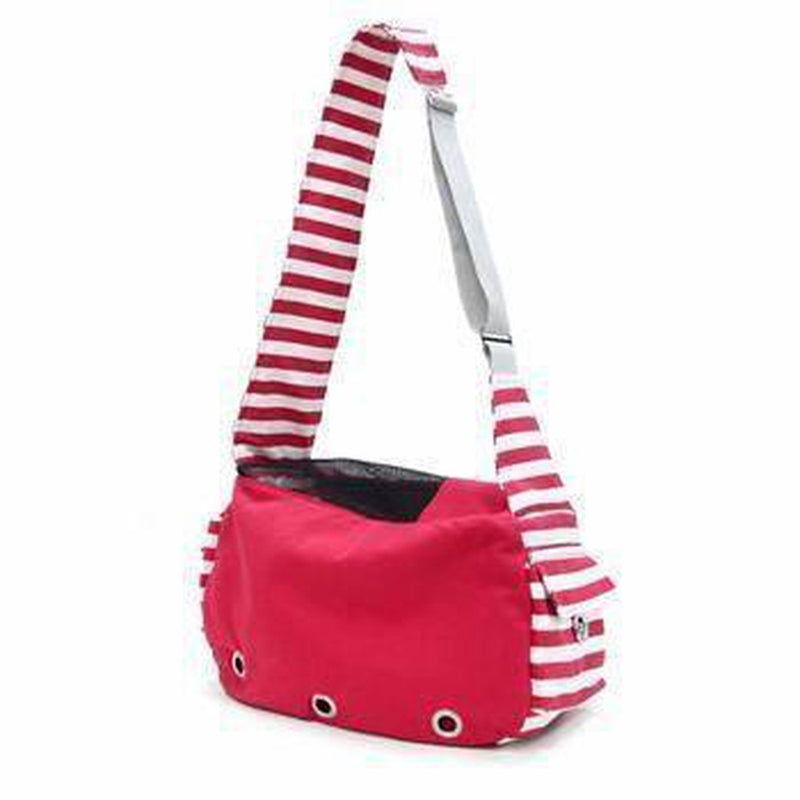Soft Sling Bag Dog Carrier by Dogo - Red Pet Accessories DOGO