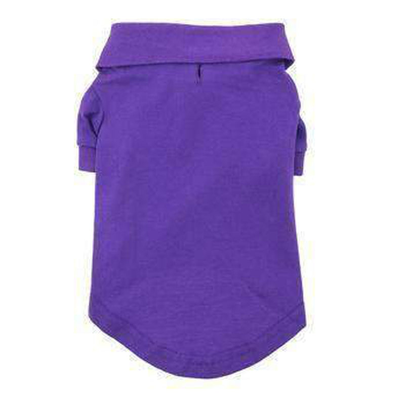 Solid Dog Polo - Ultra Violet, Pet Clothes, Furbabeez, [tag]