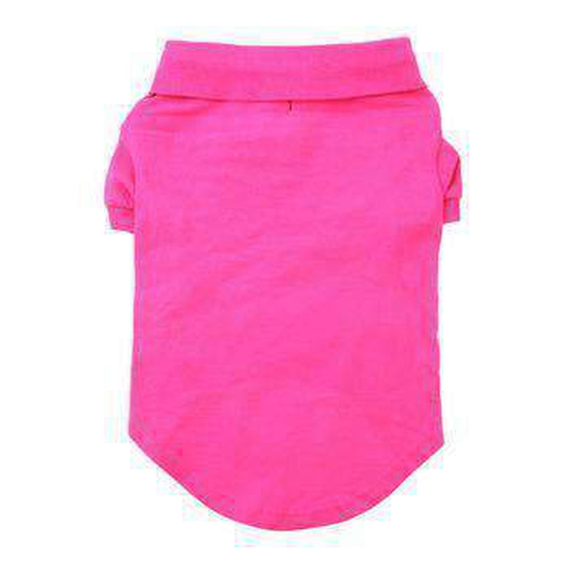 Solid Dog Polos - Raspberry Sorbet, Pet Clothes, Furbabeez, [tag]