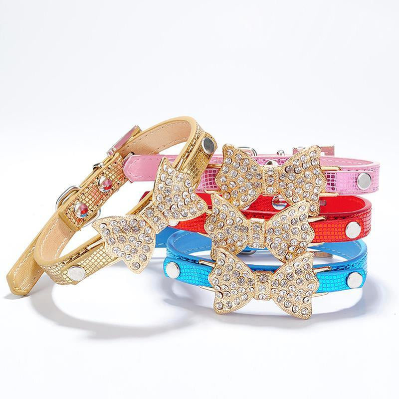 Sparkle Bow Cat Collar, Collars and Leads, Furbabeez, [tag]