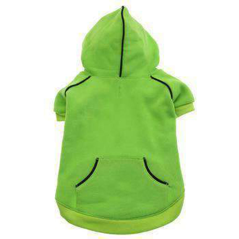 Sport Dog Hoodie by Doggie Design Pet Clothes Doggie Design Lime X-Small